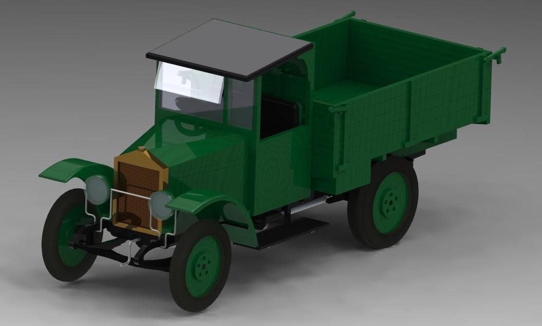 Автомобиль грузовой АМО Ф-15