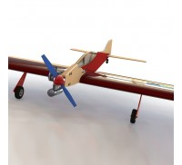 "PML-2001 ""ЯСТРЕБ"" - Кордовая пилотажная авиамодель F2B"