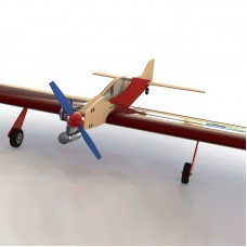 """PML-2001В """"ЯСТРЕБ"""" - Кордовая пилотажная авиамодель F2B - Базовая комплектация"""