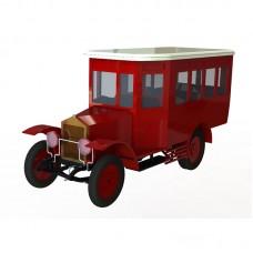 АМО Ф-15 - Сборная модель автобуса (10 мест)