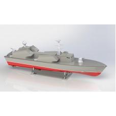 """PML-7021 """"МОСКИТ"""" - радиоуправляемая модель ракетного катера"""